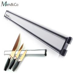 Magnetic knife Holder 14 Inch Kitchen Knife Stand Bar Strip Wall Magnet Block Aluminum For Knives Storage Cooking Accessories
