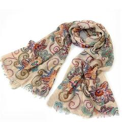 # Vestido 2019 Vintage Warm Knitted Ladies Scarf luxury brand Wrap Shawls and scarves Nation Summer beach Ladies tops17