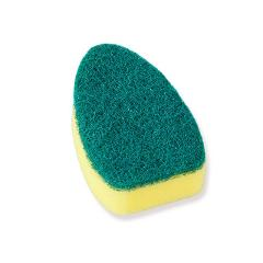 With Refill Liquid Soap Dispenser Scrubber Cleaning Products Washing Cleaning Brush Replaceable Couring Pad Sponge Kitchen Dish
