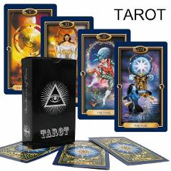 2019 tarot cards 10 style English version mysterious tarot deck for women divination cards game, board game dropshipping