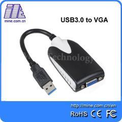 UV130 USB Adapter USB 3.0 to VGA Video Graphic Card