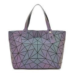 Big Crossbody Bags For Women Hand Bag Fashion Set Purse and Handbags Luminous colour Ladies Designer totes Holographic Bolsas