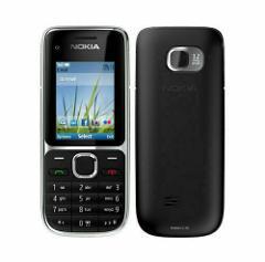 New Nokia C2-01 Black Gold Unlocked English Arabic Hebrew Keyboard Bar Phone