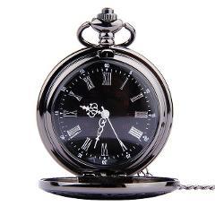 часы медсестры pocketwatch Simple Retro Romantic Double Display Pocket Watch Quartz pocket watch chain relogio feminino #N03