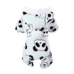 Pet Winter Clothes For Dogs Fleece 4 Legged Warm Costume Clothes Small Dogs Thickening Warm Fluffy Coat Dog Pajamas Ropa Perro