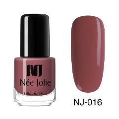 NEE JOLIE Nail Polish  Coffee Gray Red Series Nail Varnich Pure Nail Color Nail Art Polish Lacquer Decoration 3.5ml