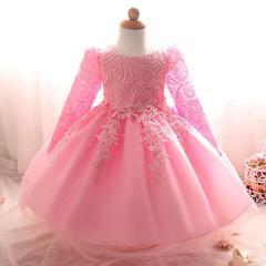 Girl Dress 2019 Formal Kid Wedding Dresses For Girls Clothes Party Princess Vestidos Nina 5 6 7 year birthday baptism Tutu Dress