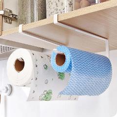 1 pcs Iron Kitchen Tissue Hook Hanging Bathroom Toilet Roll Paper Holder Towel Rack Kitchen Cabinet Door Hook Holder