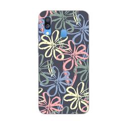 ciciber Phone Cases for Samsung Galaxy A50 A70 A40 A30 A20 A60 A10 A20e A80 Soft Silicone TPU Back Cover Leaf Flower Fundas Capa