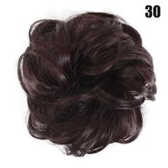 Easy to Wear Stylish Hair Scrunchies Naturally Messy Curly Bun Hair Extension @ME88