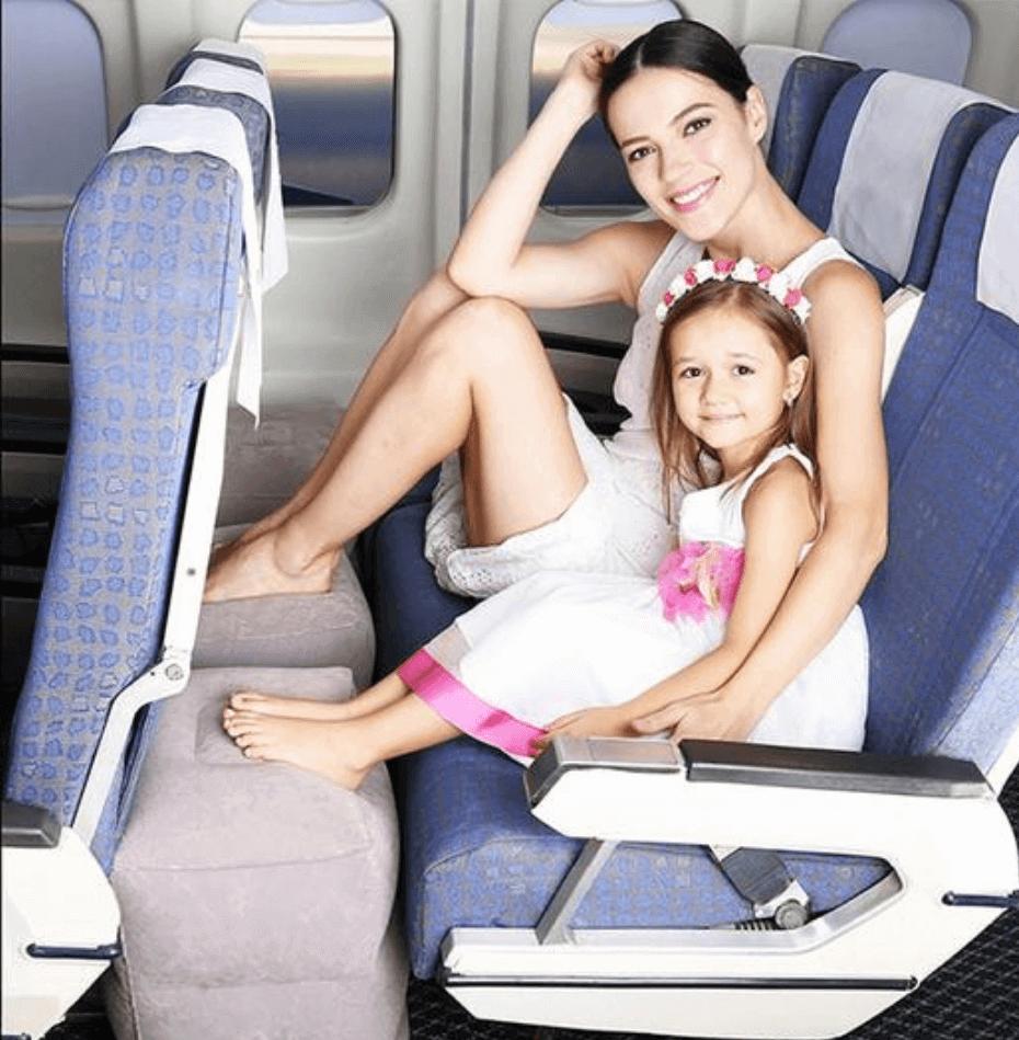 פנדי פילו - כרית רגליים לטיסות
