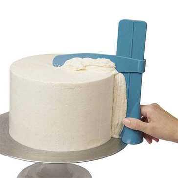 כלי ליישור קרם ועיצוב עוגות בעל גובה מתכוונן