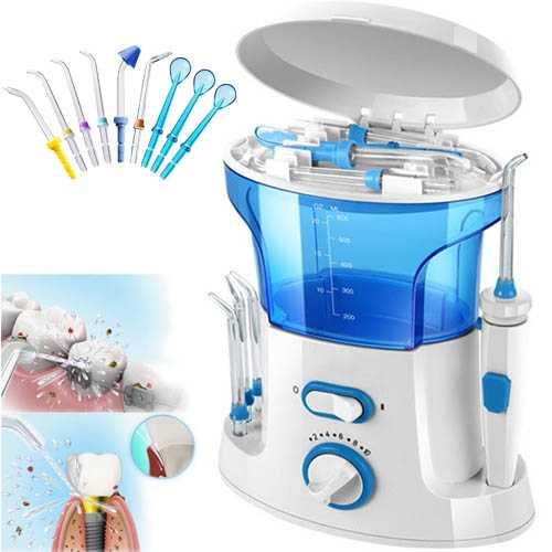 סילון מים מתקדם לניקוי יסודי של השיניים והחניכיים ושמירה על היגיינת הפה