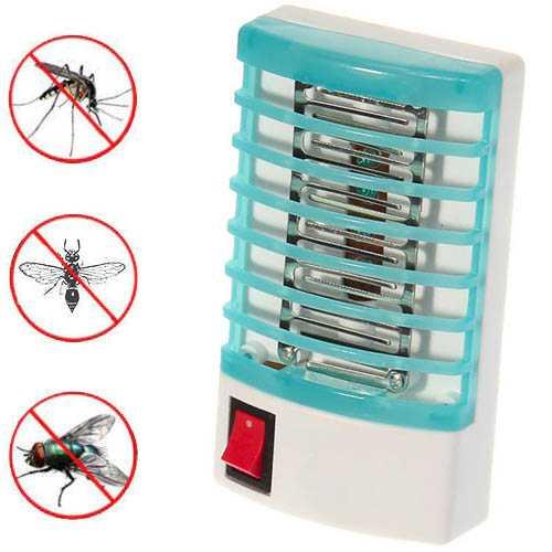 Nopți liniștite fără mușcături: țânțari ucigași și insecte mici care zboară direct în LED-ul electric cu buton de alimentare.