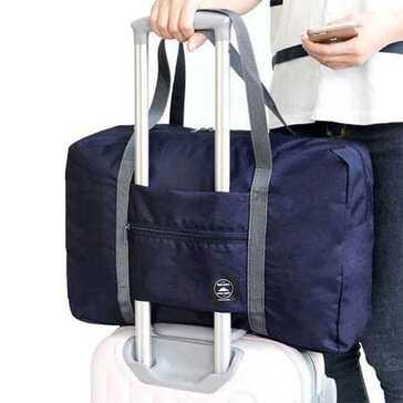 פתרון אחסון מושלם לטיסה: תיק נסיעות קל משקל למזוודה