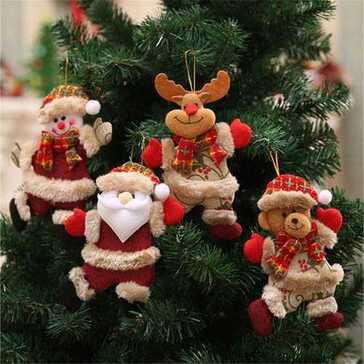 מגוון קישוטים יפייפים בסגנון השנה האזרחית החדשה