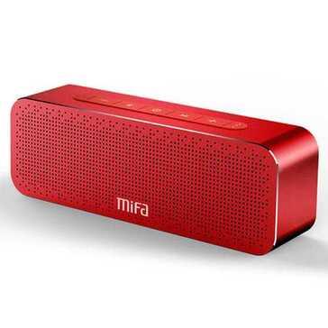 רמקול אלחוטי מדהים של חברת Mifa, מתחבר למכשירכם בבלותוט' ומנגן מוזיקה איכותית עם באס מדהים להנאתכם, נטען במהירות ומאפשר האזנה רצופה של 12 שעות לאחר כל הטענה