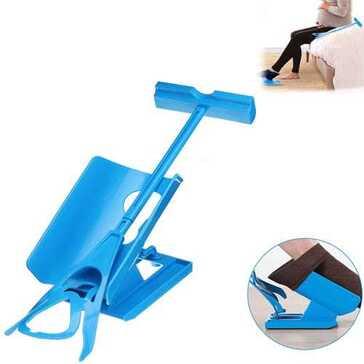 מכשיר העוזר לגרוב גרביים ללא צורך בהתכופפות, להתארגנות מהירה וקלה