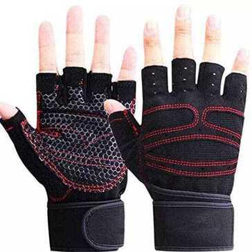 כפפות איכותיות להרמת משקולות, למניעת החלקות והגנה על עור הידיים