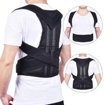רוצה שהגב שלך יהיה ישר ובריא בקלות? תומך גב לביש ונוח ששומר על עמוד השדרה שלך בריא ומונע התעקמות וכאבים - עכשיו במבצע 58% הנחה