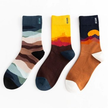 גרביים כיפיים עם המון ציורים מדליקים במידה 36-44
