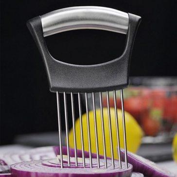 ידית מסייעת בחיתוך ובפריסה מדויקת של אוכל