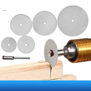 דיסקיות חיתך עץ מתחברות ישירות למקדחה