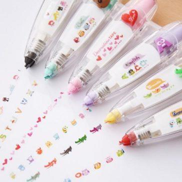 עט ייחודי שמוציא מדבקות קוואי מקסימות