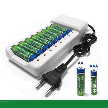 המכשירים תמיד יעבדו עם מטען מהיר ל-8 סוללות ביחד ב-40% הנחה