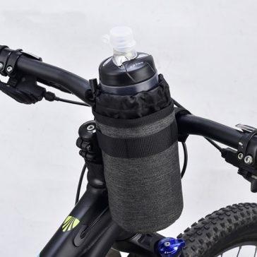 """תיק אופניים לבקבוקי שתייה עד 750מ""""ל עם שמירת טמפרטורה"""