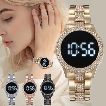 שעון דיגיטלי יוקרתי עם תצוגה גדולה ב-61% הנחה