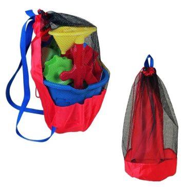 תיק רחצה לילדים - תיק גב קל מתקפל שאפשר להרטיב