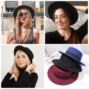 כובעי נשים אופנתיים יפים לקיץ וליומיום במבחר דגמים יפים